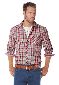 GREY CONNECTION Geruit overhemd en T-shirt