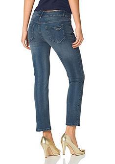 ARIZONA Jeans Capri-jeans met lage taillehoogte