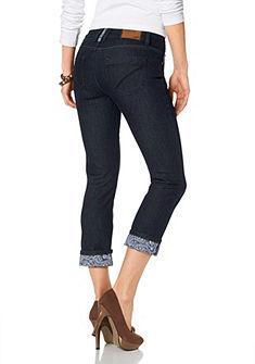 ARIZONA Capri-jeans met lage taillehoogte