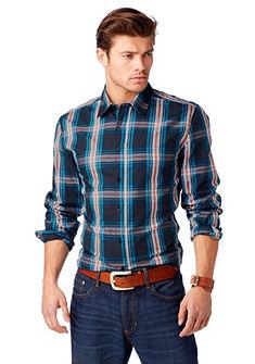 JOHN DEVIN Overhemd met ruitmotief