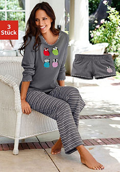Pyjama, Vivance, 3-delige set
