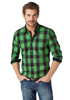 TOM TAILOR DENIM Overhemd met ruitjes