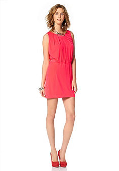 JESSICA SIMPSON Jersey-jurk met ronde hals