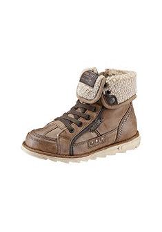 MUSTANG Hoge schoenen met ritssluiting