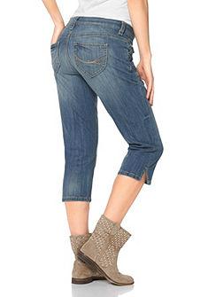 TOM TAILOR Capri-jeans met iets verlaagde taillehoogte