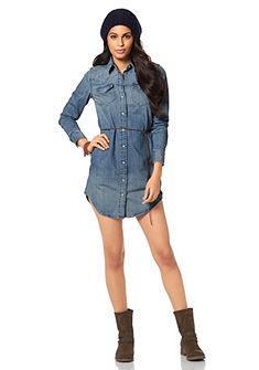 LEVI'S® Jeans-jurk met drukknoopsluiting