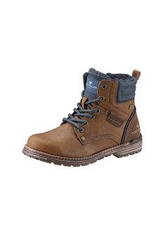 TOM TAILOR Hoge schoenen met vetersluiting