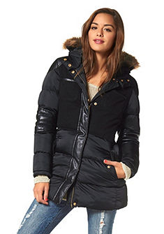 AJC Parka in materialenmix