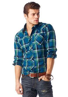 JOHN DEVIN Overhemd in ruitdessin