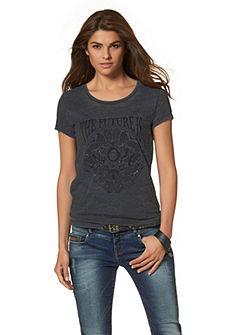 TOM TAILOR T-shirt met print en glinstersteentjes