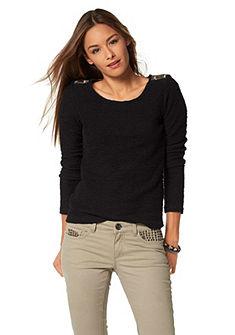 AJC Sweatshirt met schouderapplicatie