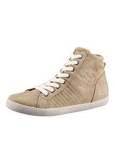 TOM TAILOR Hoge sneakers met logo-stempeldruk