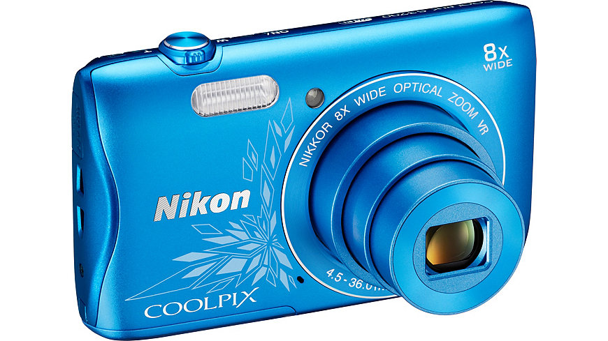 NIKON COOLPIX S... Pink Nikon Camera S3700