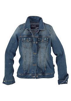 Jeans-jack voor meisjes