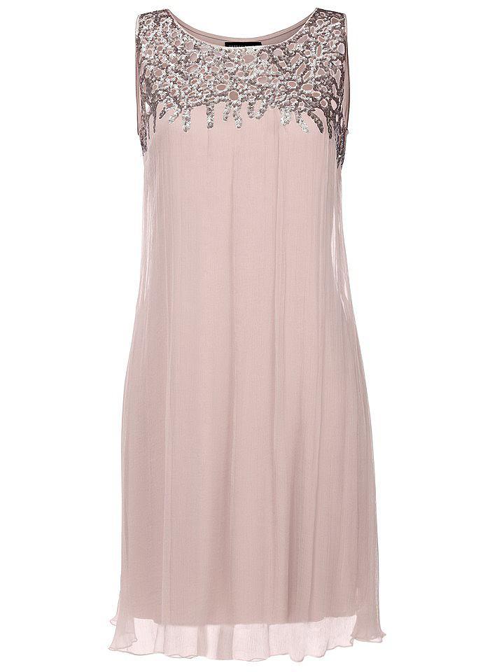 jurk met pailletten roze