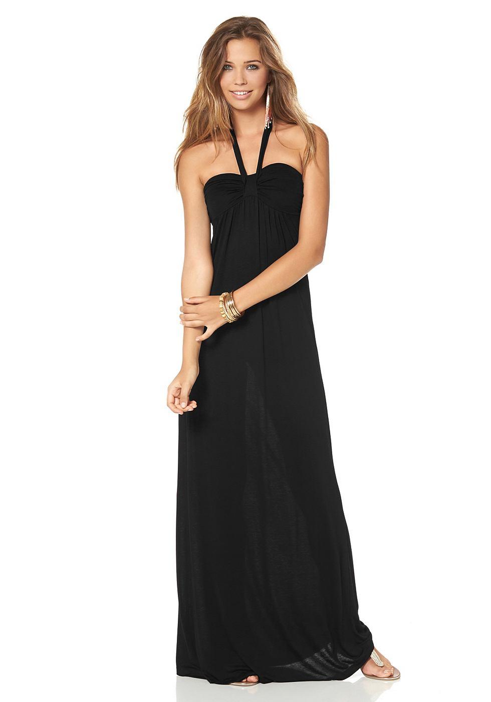 AJC maxi-jurk zwart
