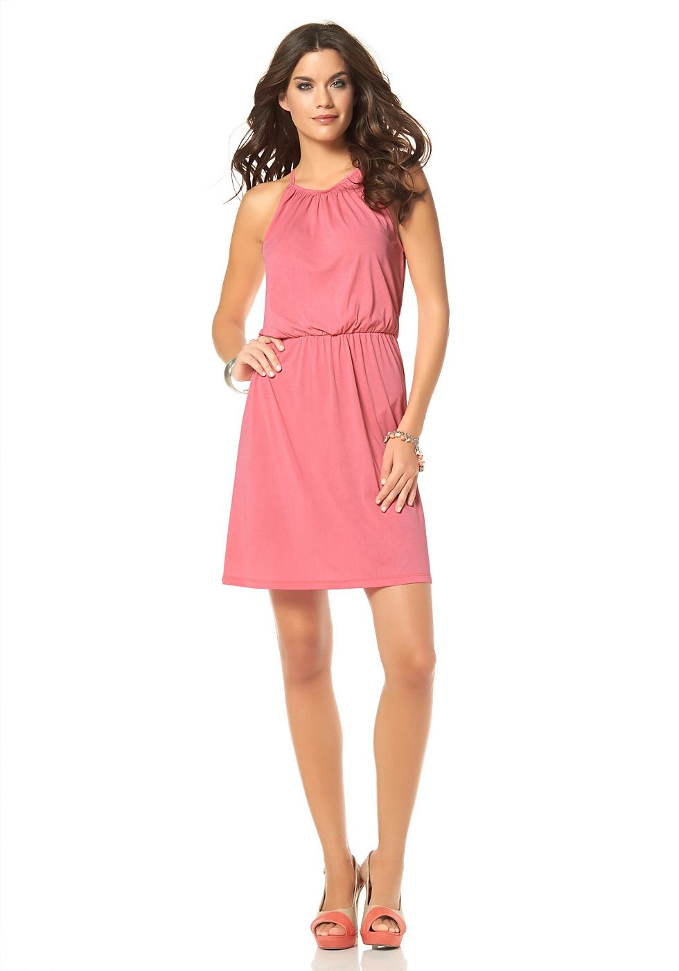 Laura Scott jurk in kort model rood