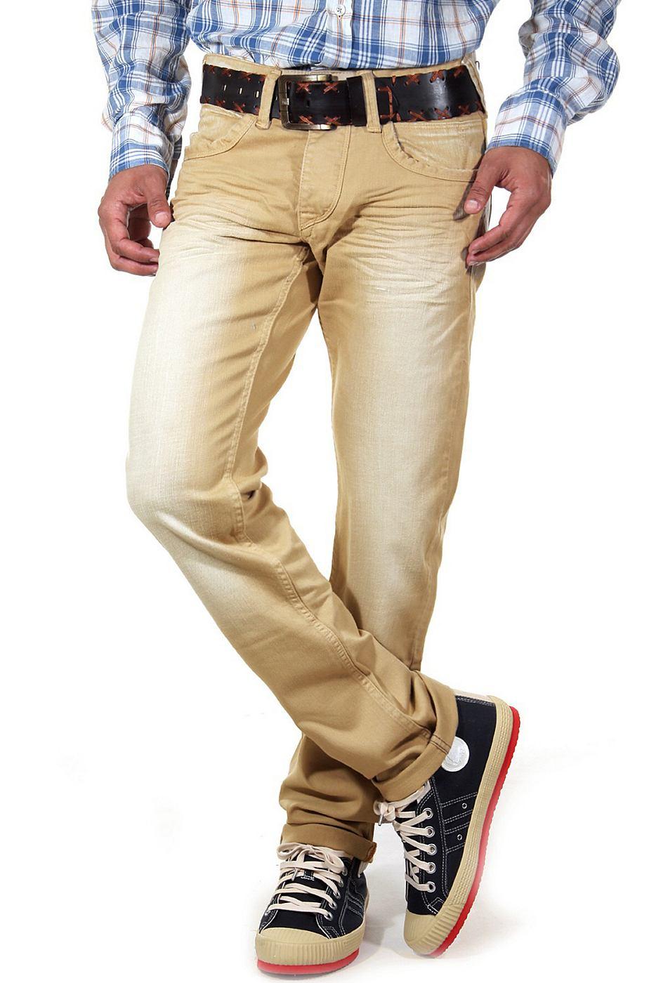 R-NEAL Gekleurde jeans regular fit