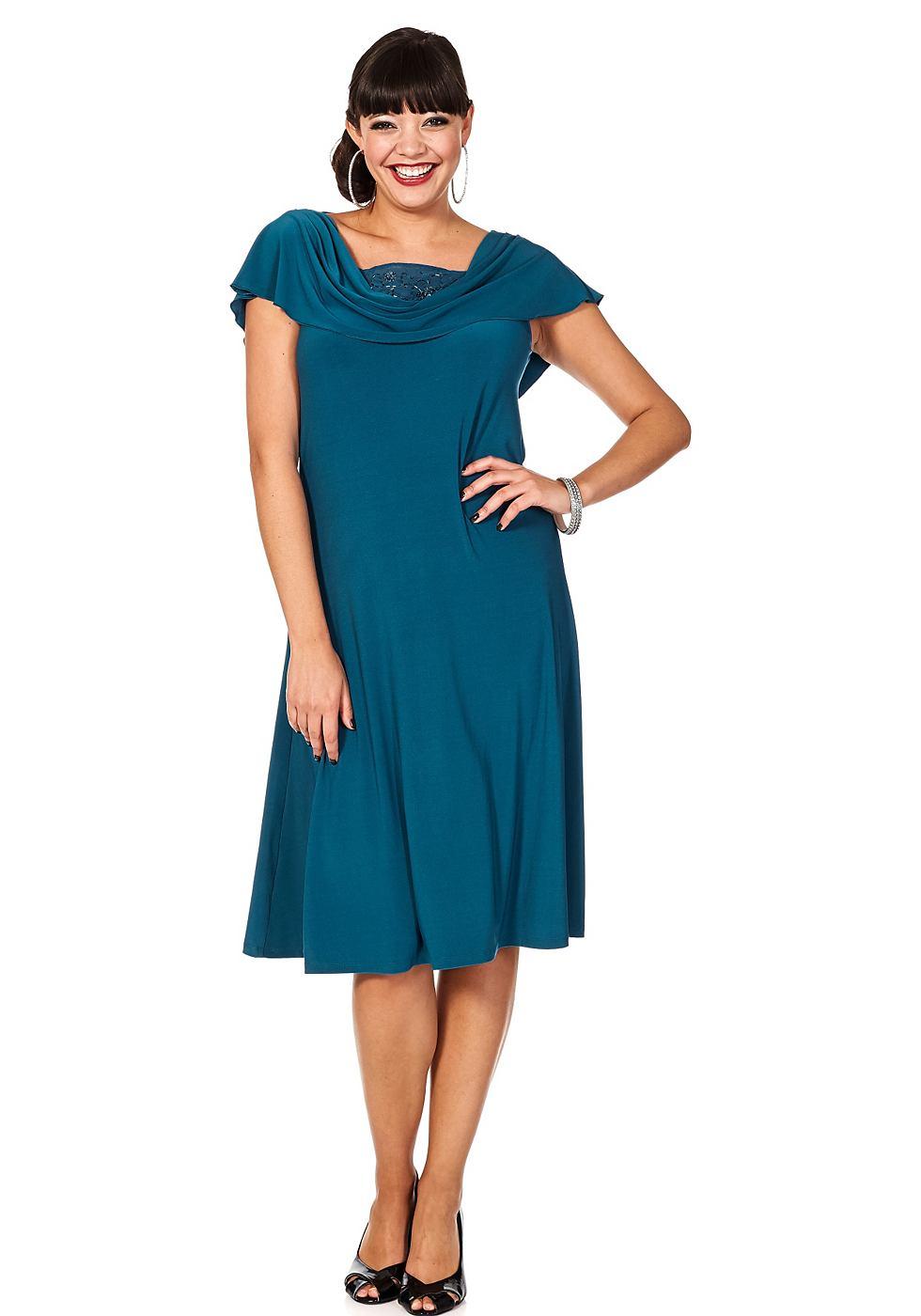 Sheego Style jurk groen