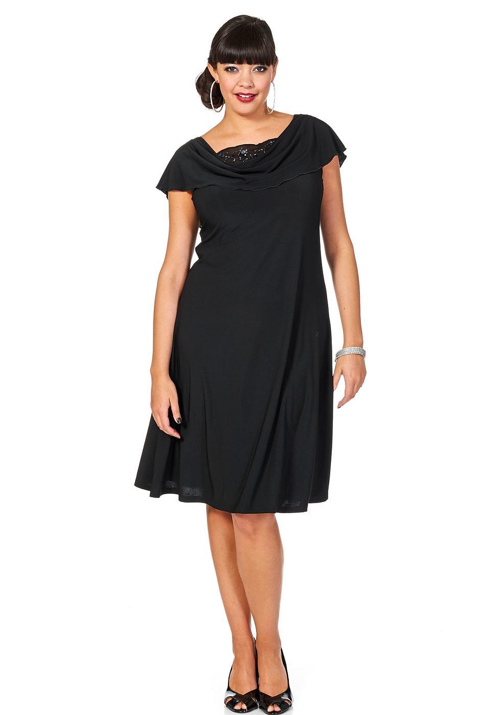 NU 15% KORTING: Sheego Style jurk zwart
