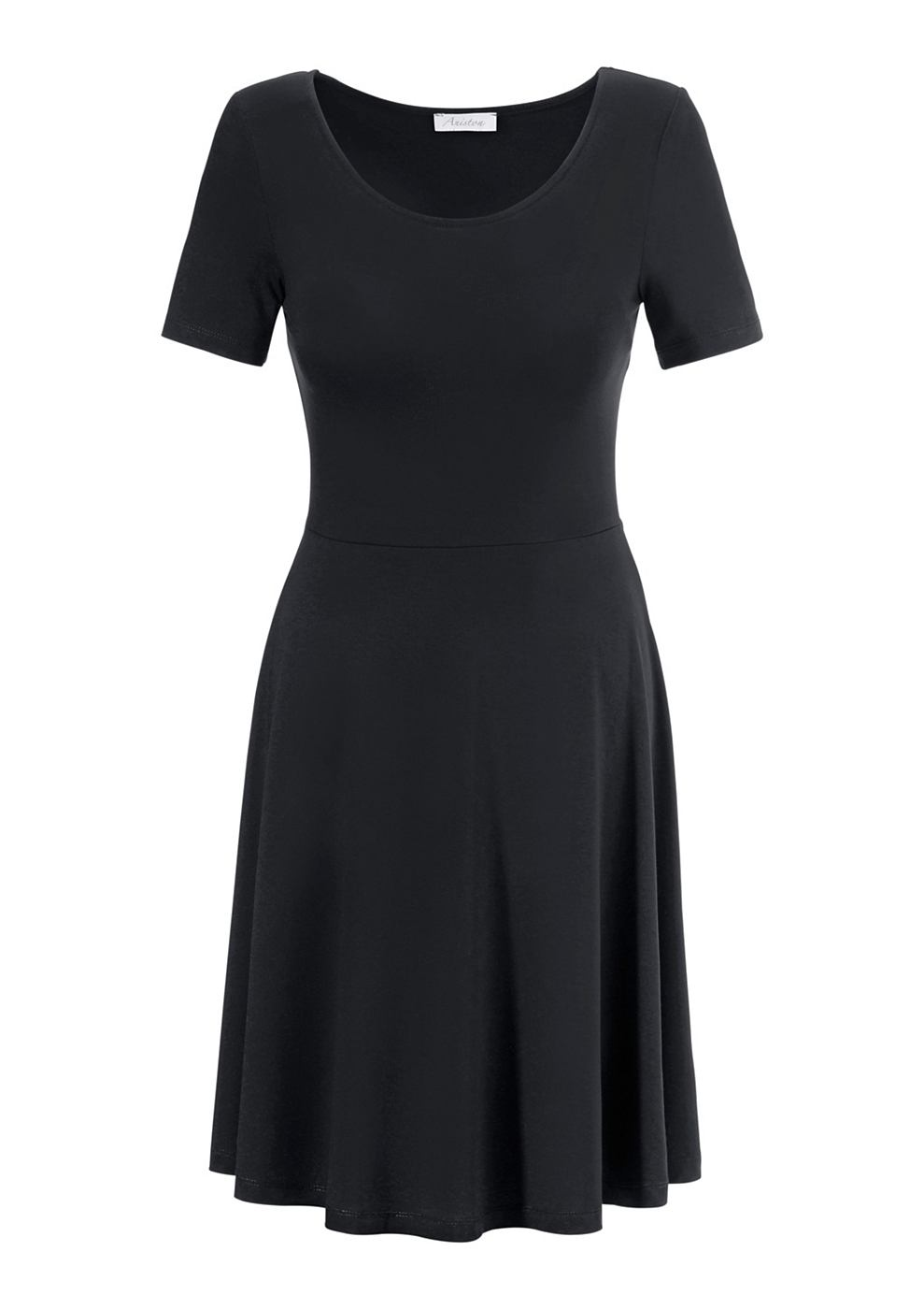 NU 21% KORTING: Aniston Shirt-jurk zwart