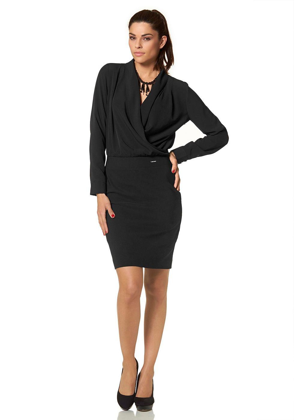 Bruno Banani 2-in-1-jurk zwart