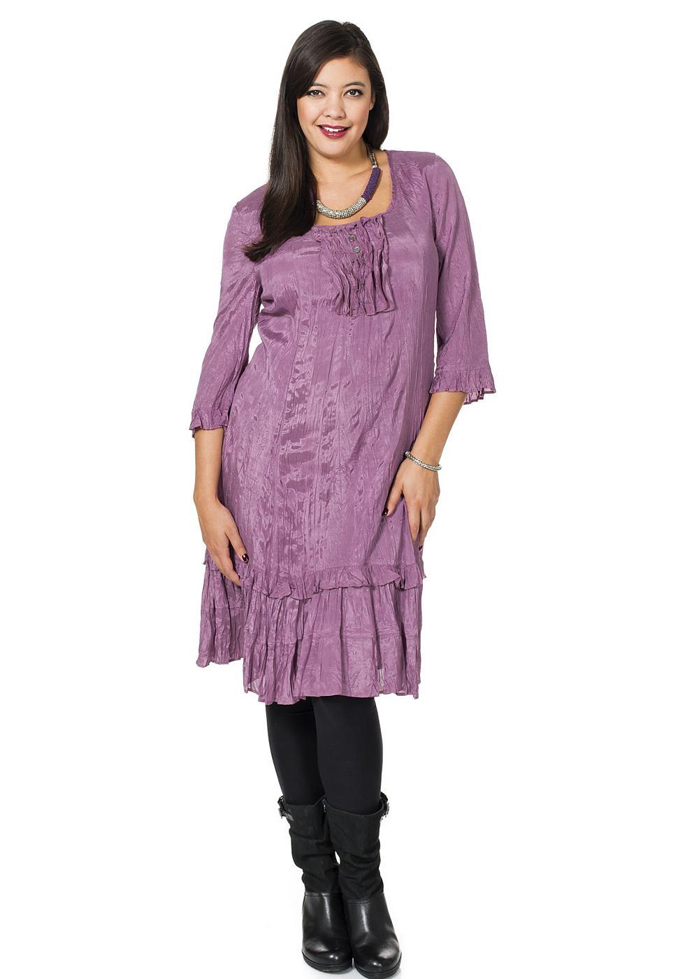 Sheego Style jurk paars