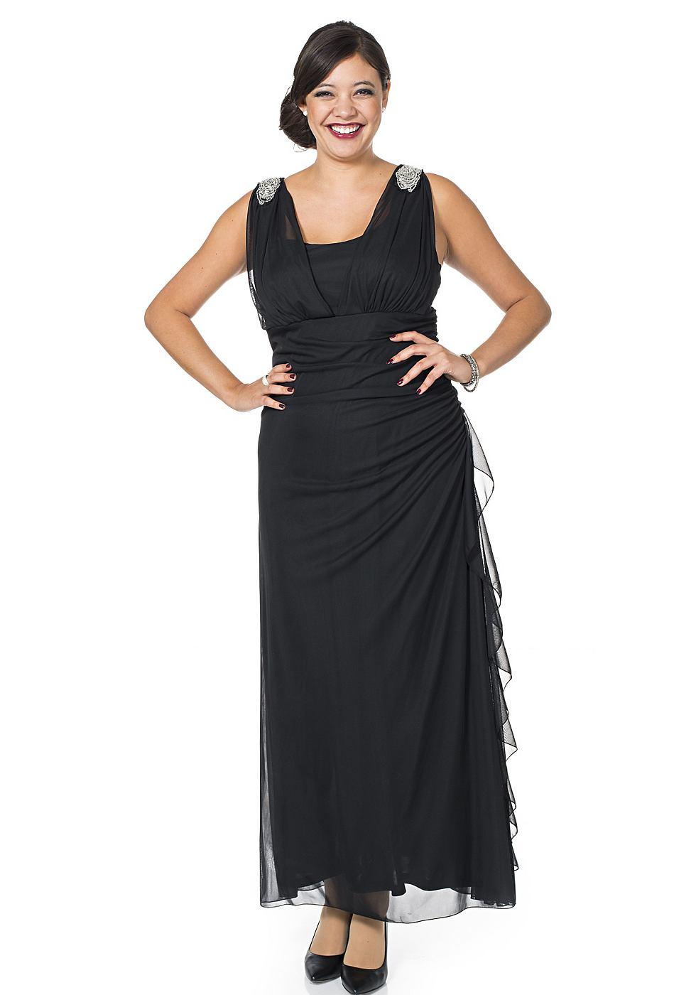 M.I.M jurk zwart