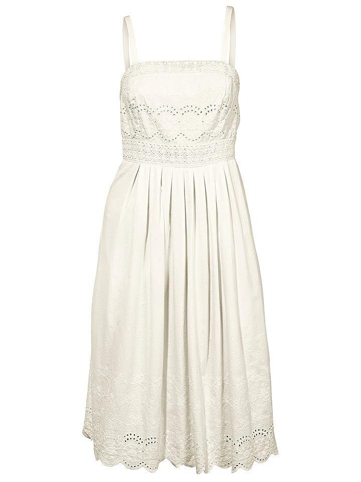 NU 20% KORTING: jurk in overgooiermodel wit