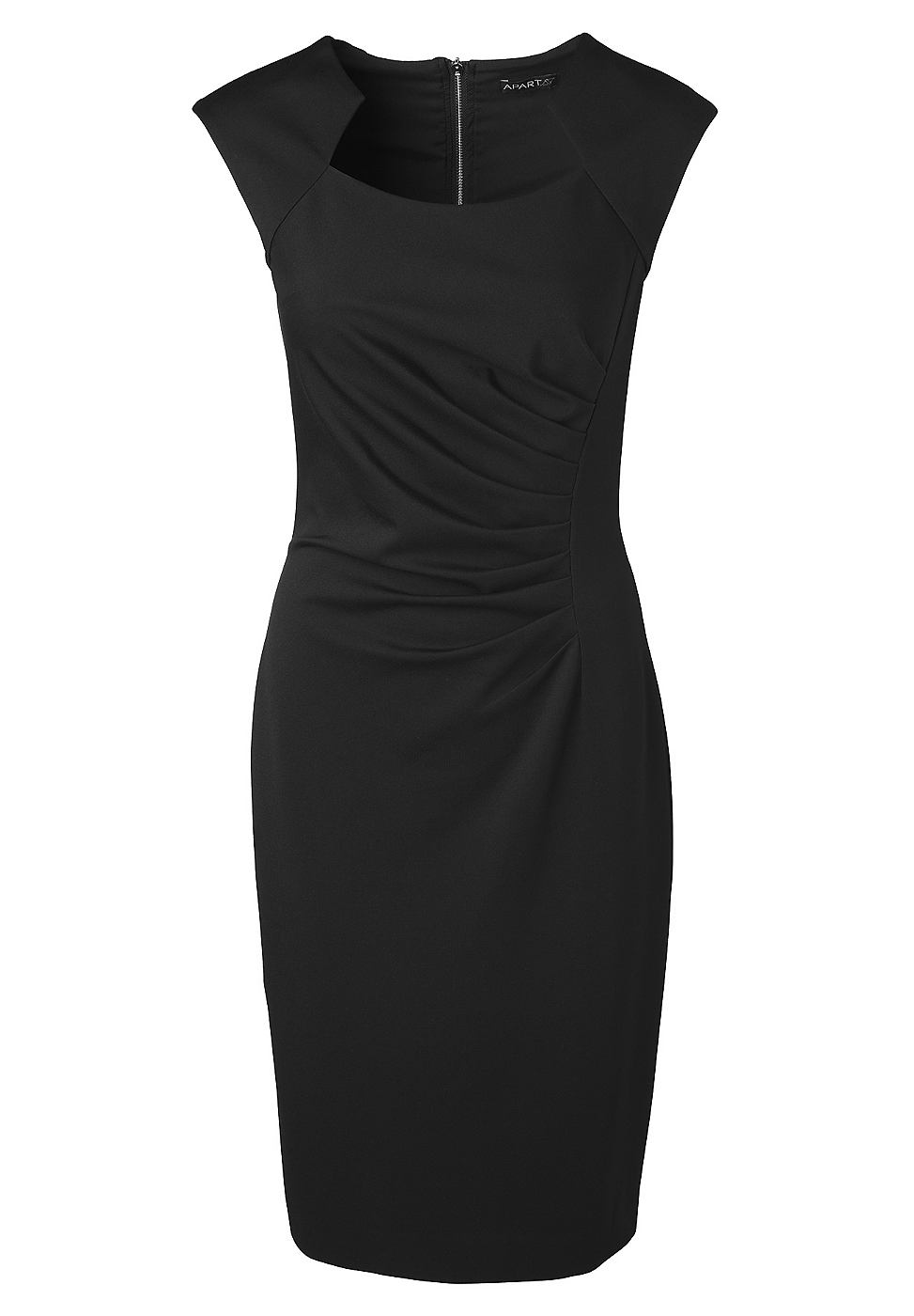 Apart Tricot jurk zwart