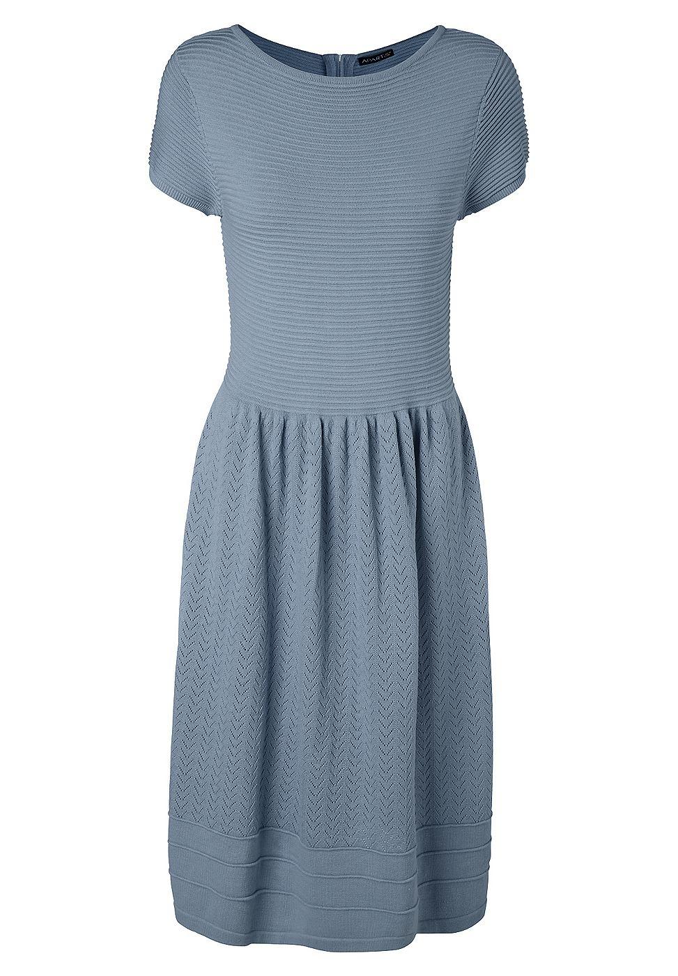 Apart tricotjurk blauw