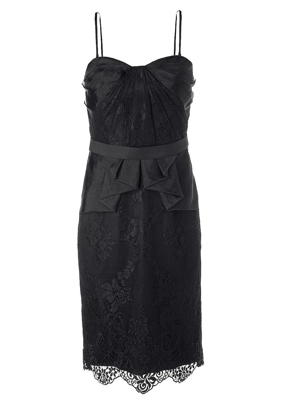 Apart jurk van kant zwart