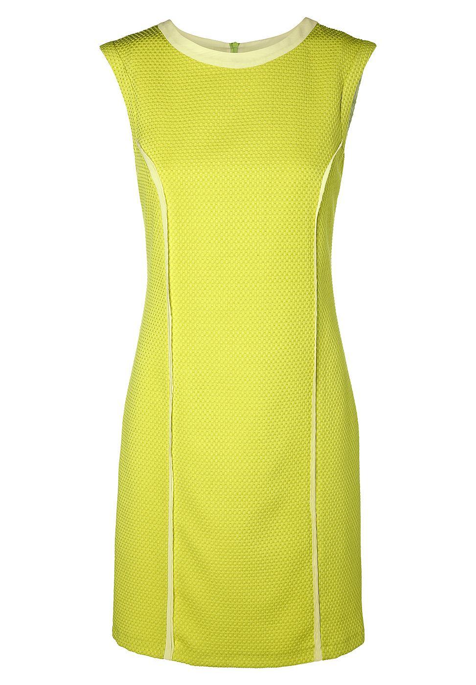NU 15% KORTING: Apart jurk geel