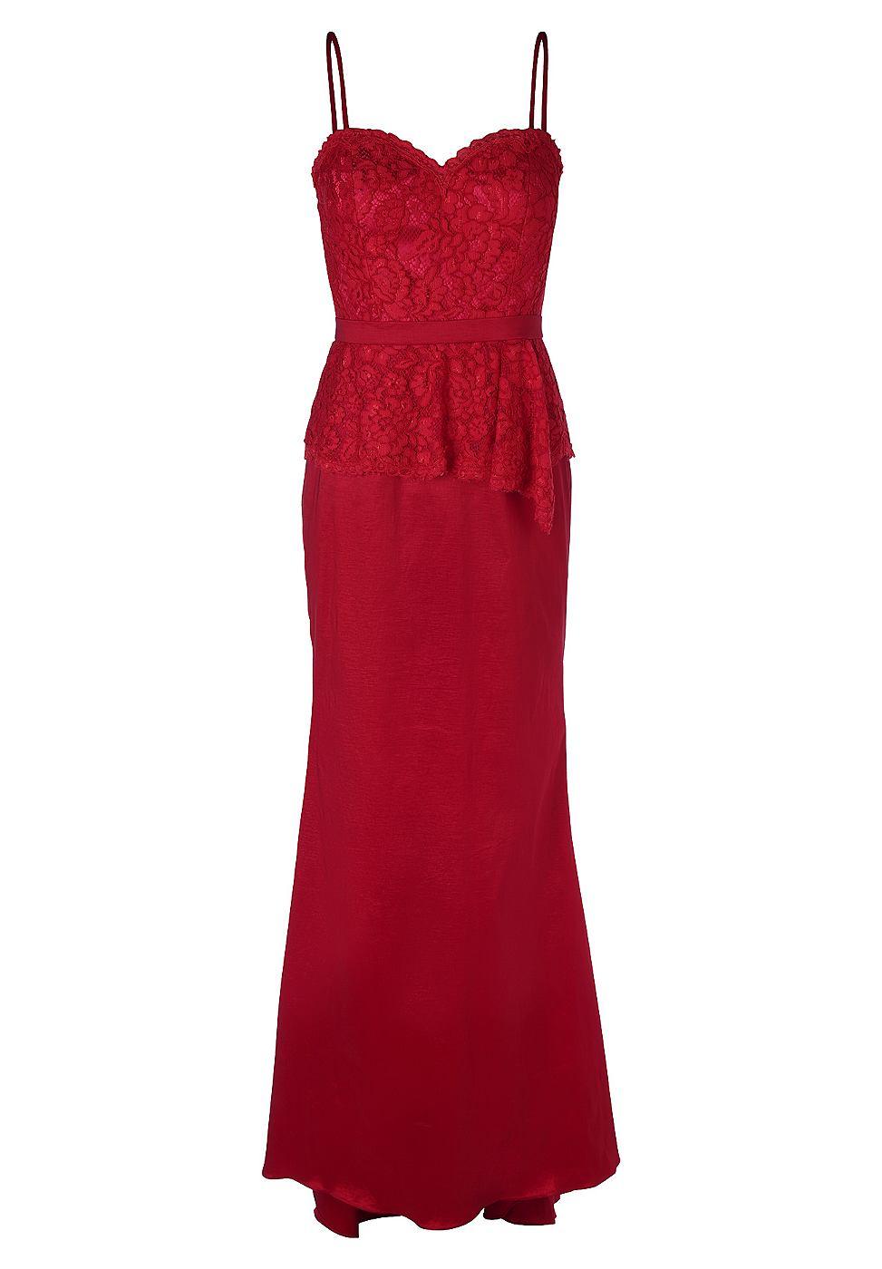 Apart jurk rood