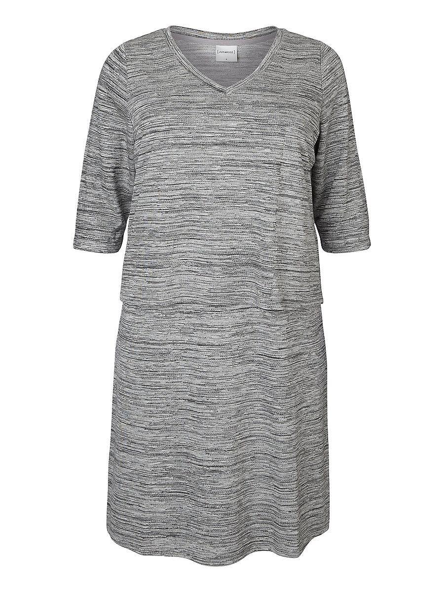 Junarose 3/4 sleeve Midi Dress multicolor