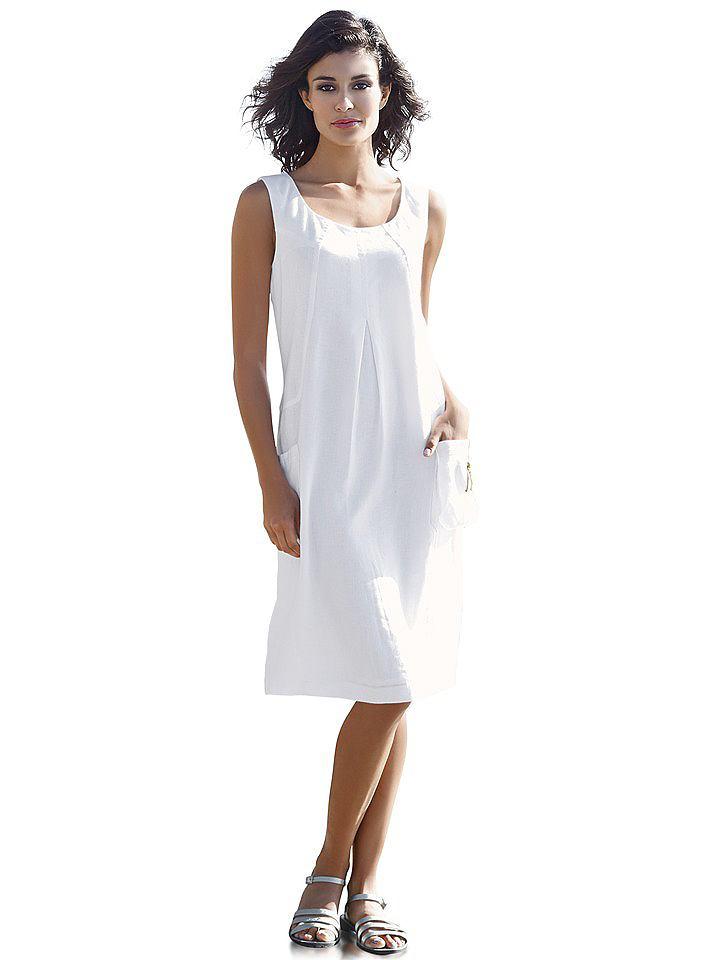 Linnen jurk wit
