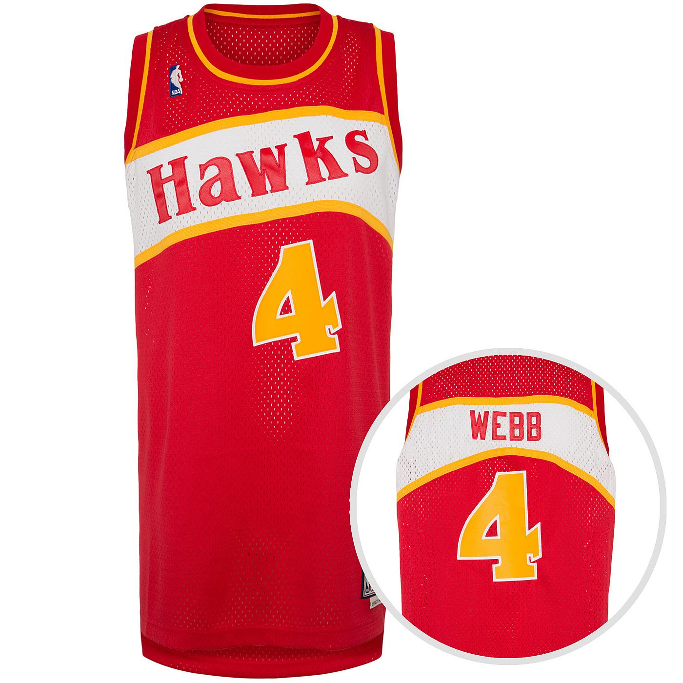 adidas Performance Atlanta Hawks basketballshirt Webb heren
