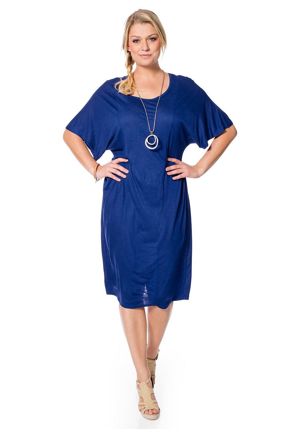 Sheego Casual jurk blauw
