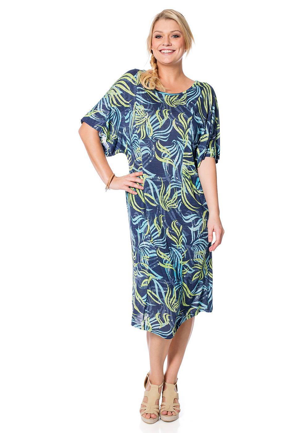 Sheego Casual jurk multicolor