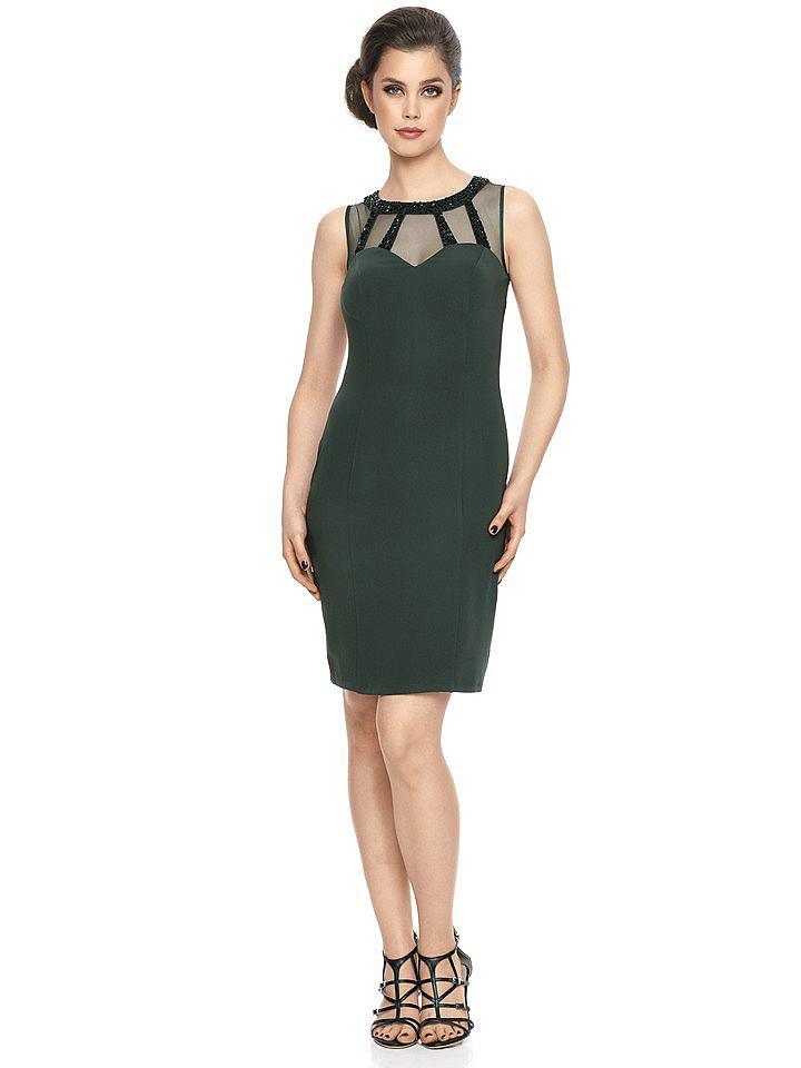 Ashley Brooke Event jurk met pailletten groen