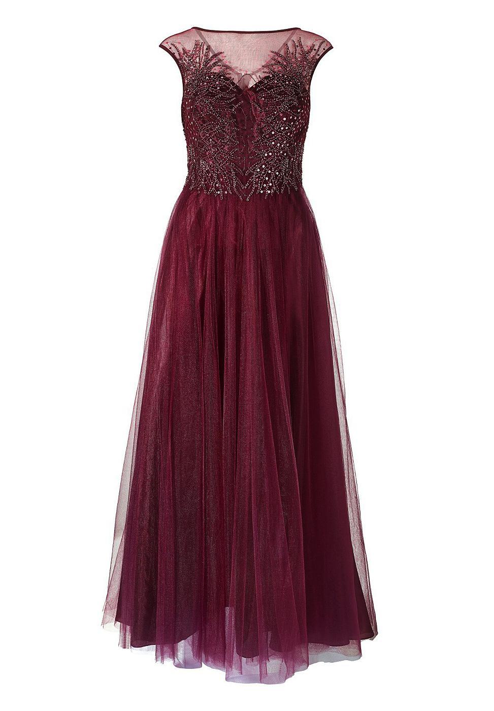 Apart Tule jurk rood