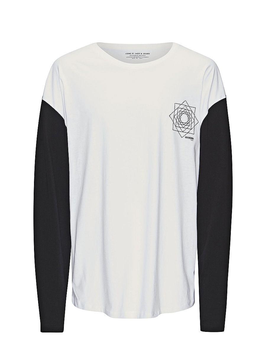 Jack & Jones Colourblock T-shirt met lange mouwen