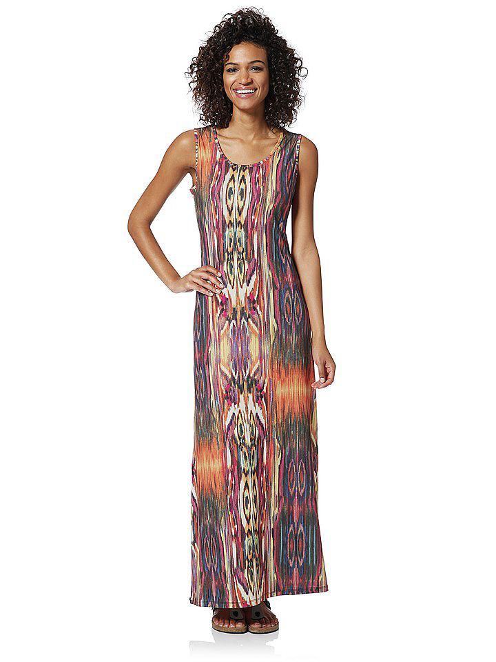 Maxi-jurk multicolor