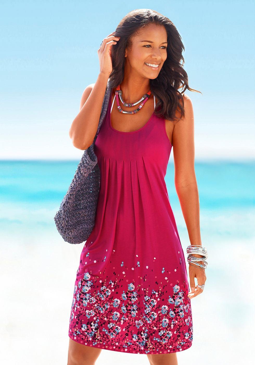 Strandjurk Beach Time rood