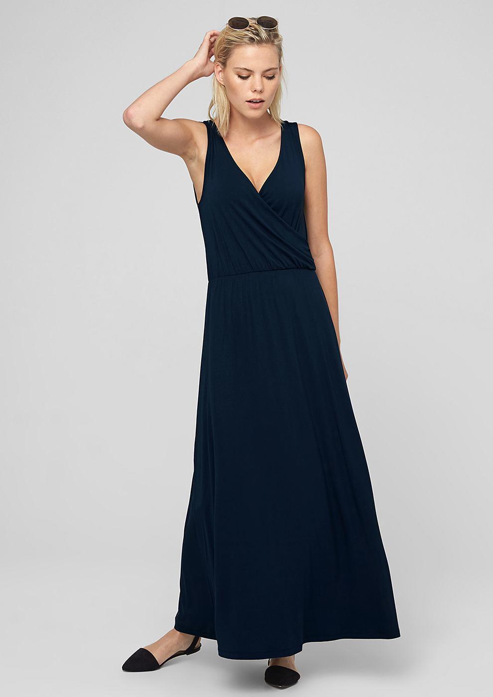 s.Oliver Maxi-jurk blauw