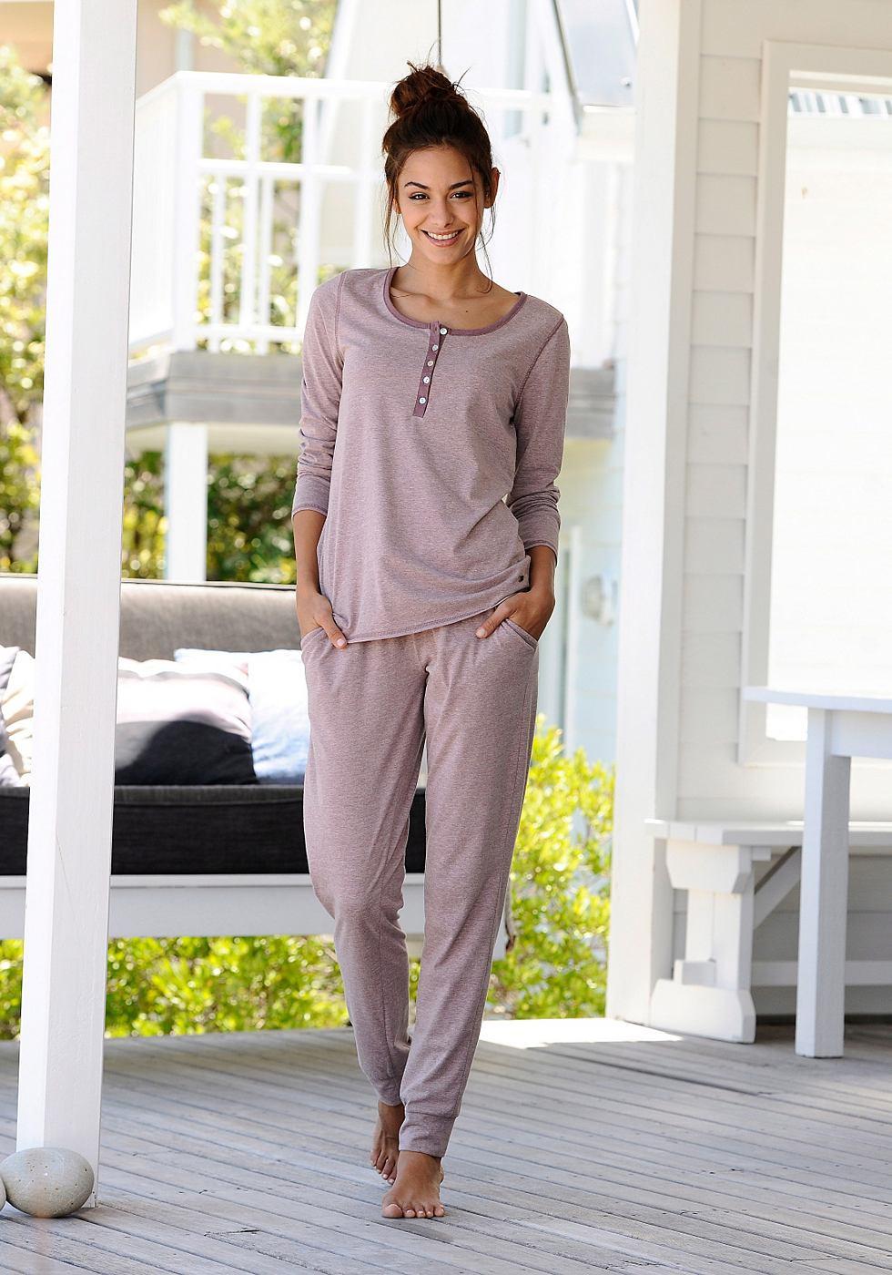 ARIZONA Pyjama in mêlee-look