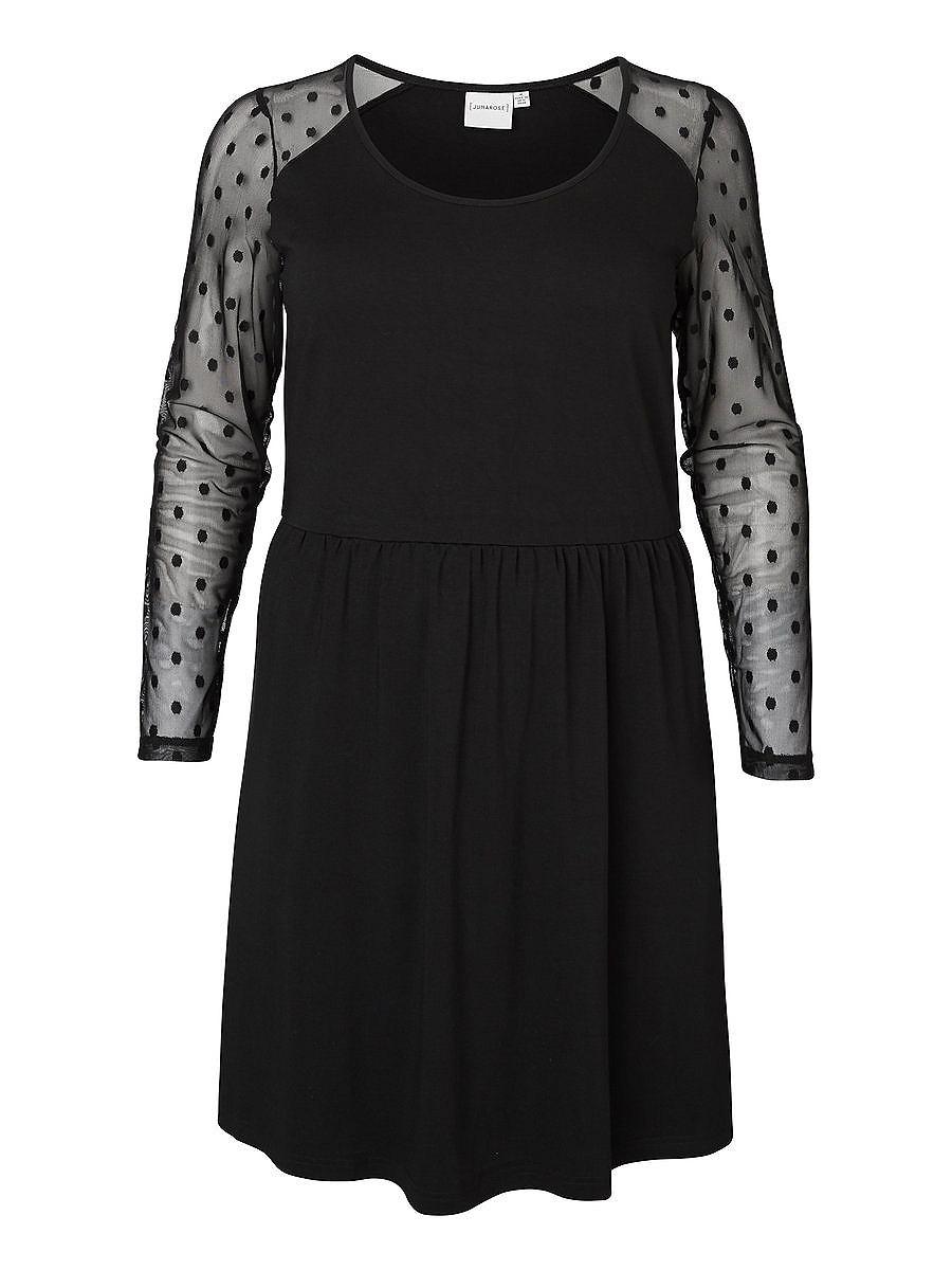 Junarose Skater jurk zwart
