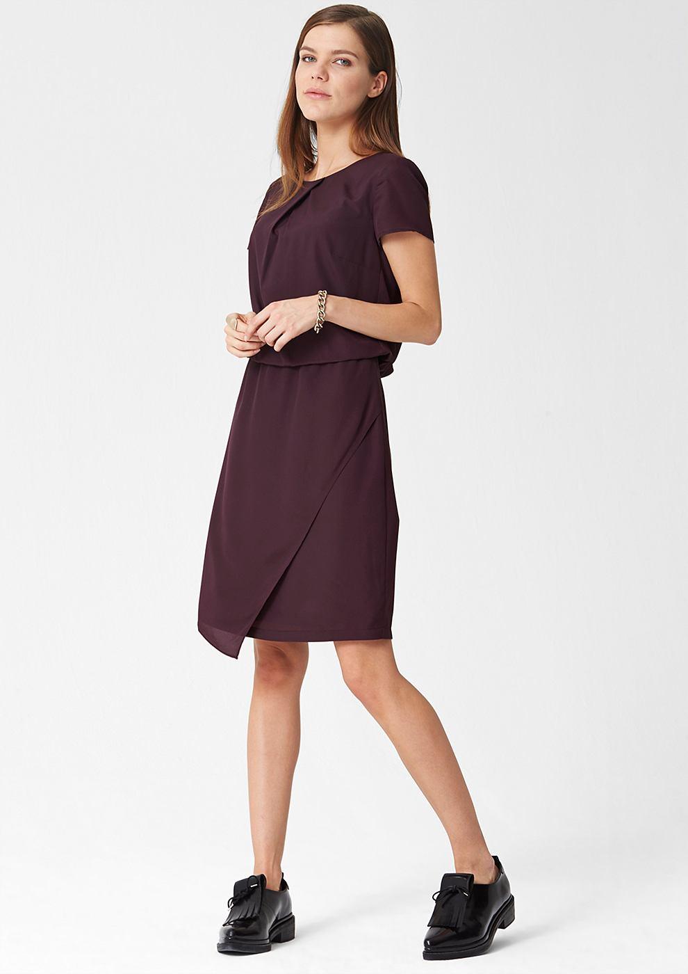 s.Oliver Premium Moderne jurk rood
