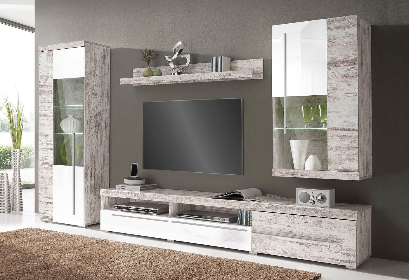 tv wandmeubel hout kopen online internetwinkel. Black Bedroom Furniture Sets. Home Design Ideas