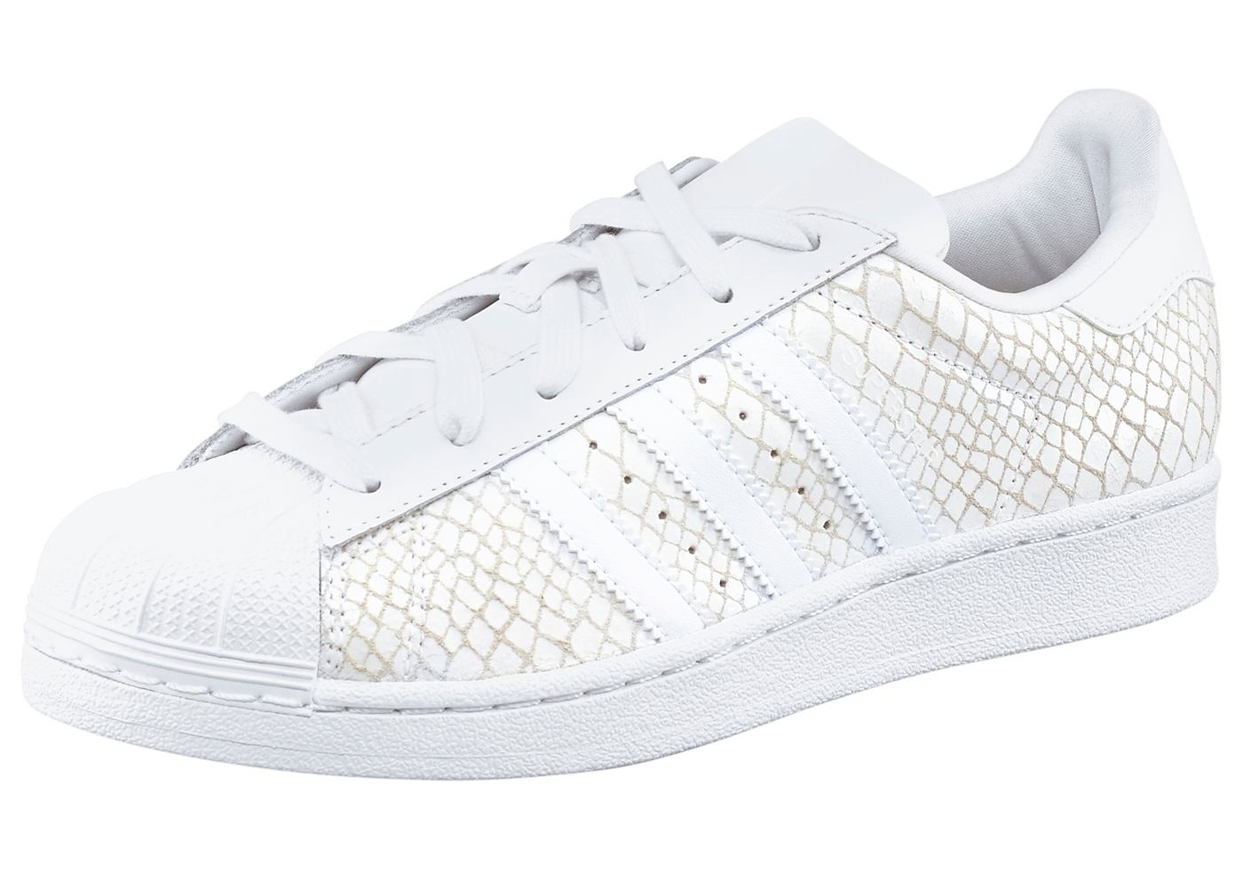adidas superstar zwart wit print